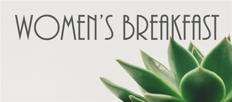 Womens breakfast banner
